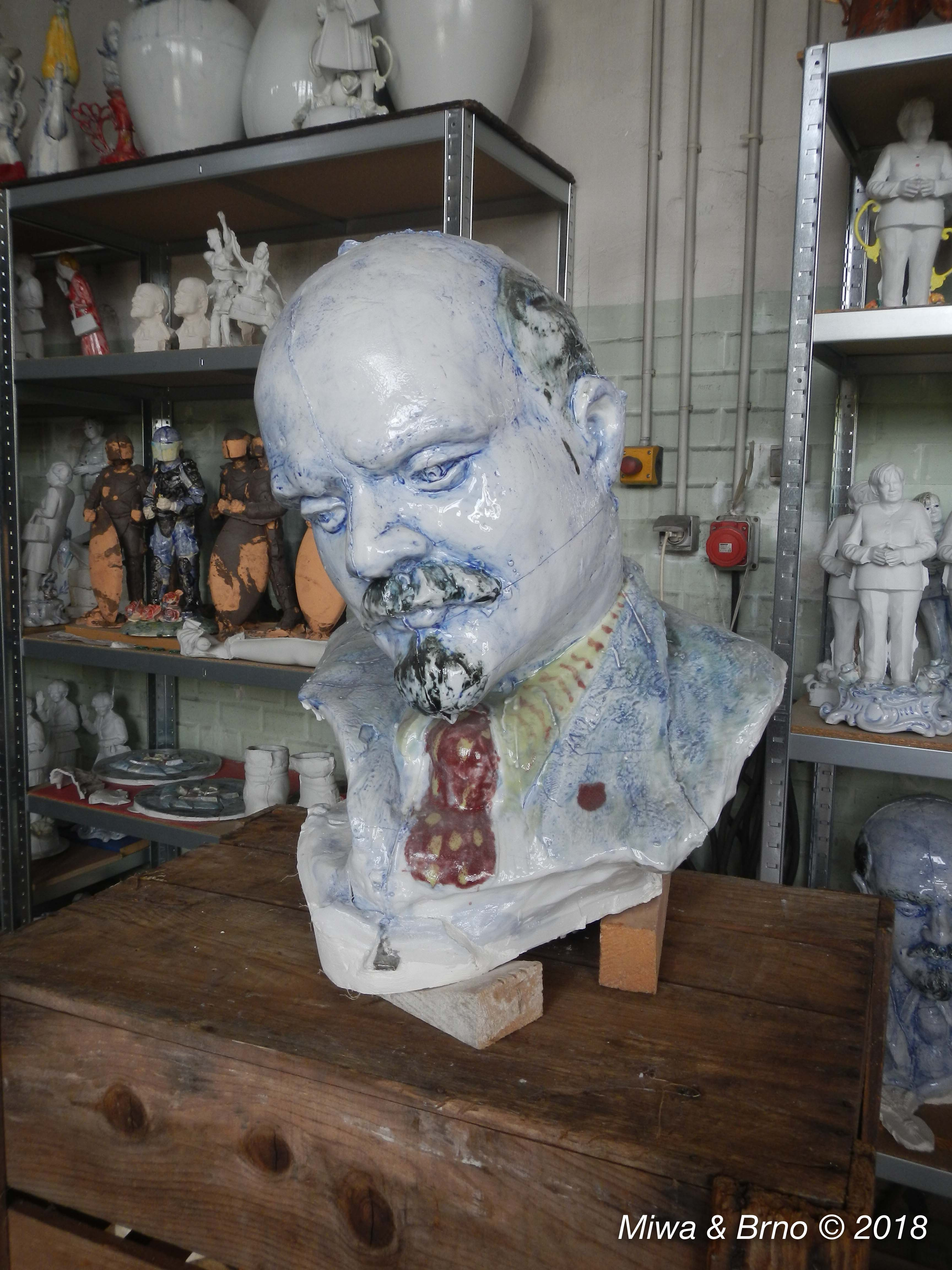 visite atelier Gilles Fromonteil